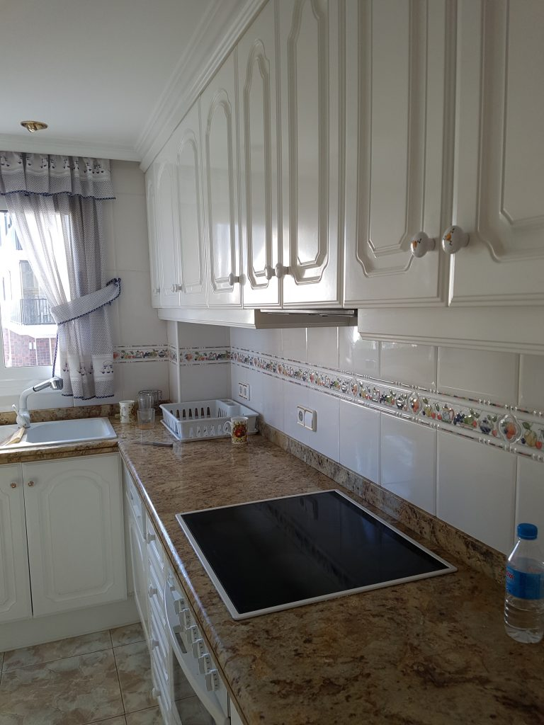 keuken-vakantieappartement-spanje