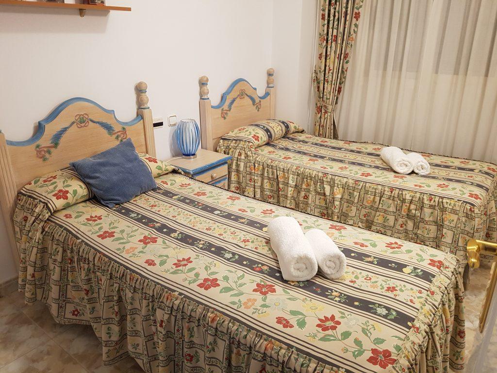 slaapkamer 2 vakantieappartement spanje